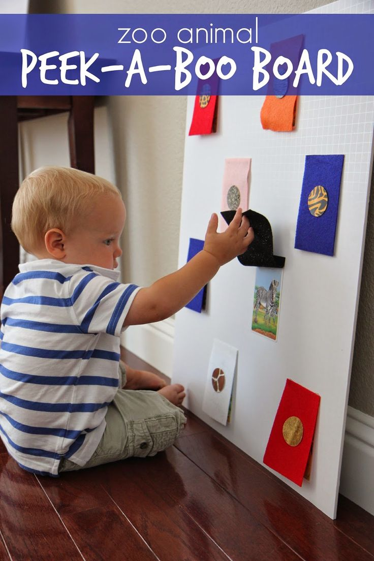 Toddler Approved!: Zoo Animal Peek-a-Boo Board.