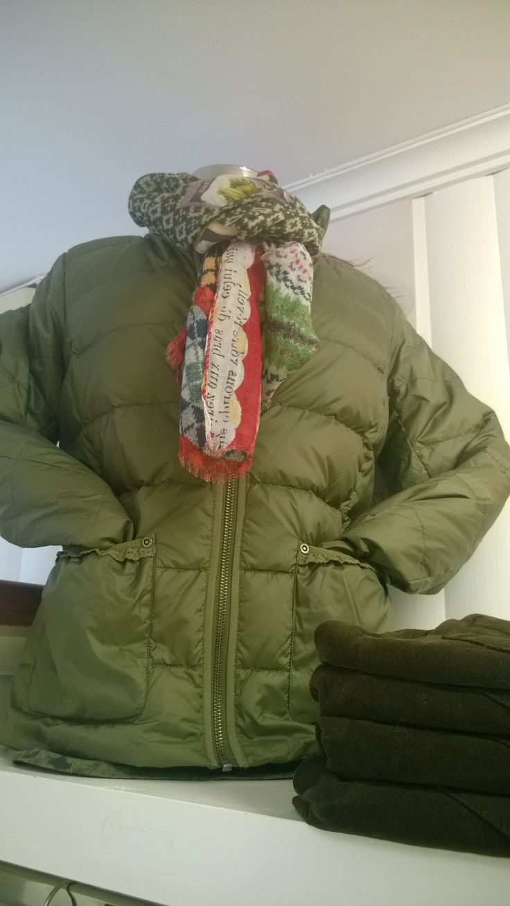 This is the chilled jacket,from Odd Molly, and its reversible....