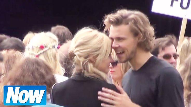 5 Seconds Of Summer's Ashton Irwin kissing girlfriend Bryana Holly