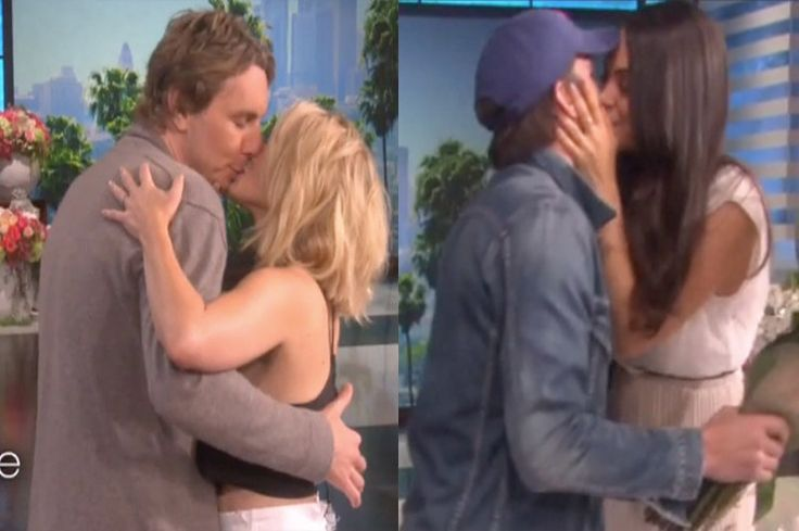 Kristen Bell And Mila Kunis Being Surprised by Dax Shepard and Ashton Kutcher