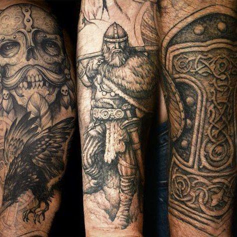 awesome Top 100 viking tattoos - http://4develop.com.ua/top-100-viking-tattoos/ Check more at http://4develop.com.ua/top-100-viking-tattoos/