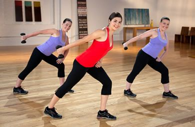 Try this fat-blasting workout video with your friends: 18-Minute Boot Camp Cardio Sculpt