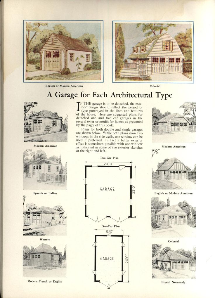 14 best carlburg garage images on pinterest garage for Vintage garage plans
