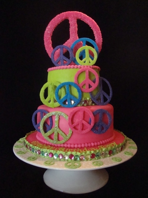 Peace of Cake: Cakes Colors, Cakes Ideas, Cakes Cupcakes Cookies, Amazing Cakes, Cakes Brownies E T C, Cakes Yum, Birthday Ideas, Awsom Cakes, Birthday Cakes