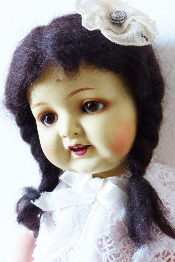 Bambola Armand Marseille. Antica bambola di bamboleantiche su Etsy, €139.00