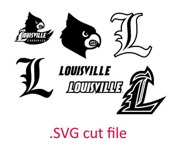 university louisville cardinals SVG files for by OhThisDigitalFun
