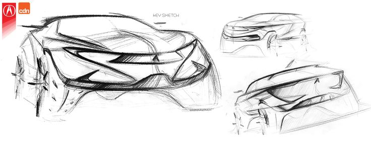 Acura Cyno (Car Design News Competition 2016) on Behance