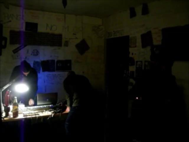 March 5, 2013 Tommaso Busatto  A jam session with Yurugu's Speech (https://soundcloud.com/yurugus-speech) - industrial area of marghera, sala ghiaccio 9