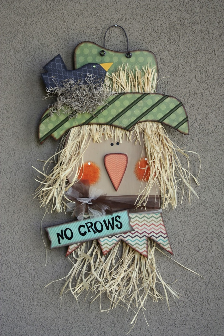 wood scarecrow | WOOD Creations: Fall Creations Have ...