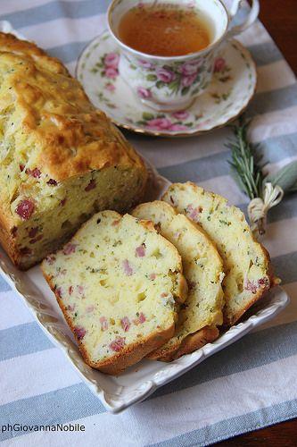 Cake con arrosto di culatello per una romantica colazione