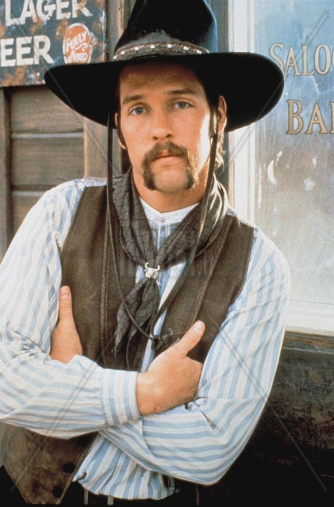 D.B. Sweeney - Ok, he was in Lonesome Dove and I loved him. Not sure it translates here, for you, but it sure did for me.