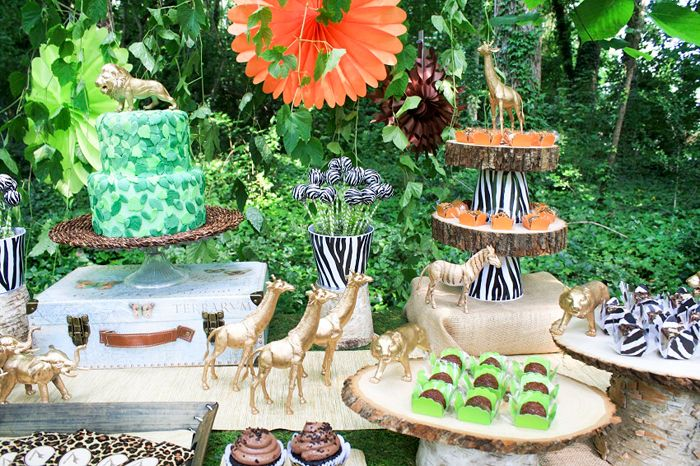 Safari Party | Dessert Table