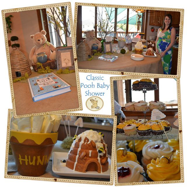 17 Best Images About Winnie The Pooh Baby Shower On Pinterest