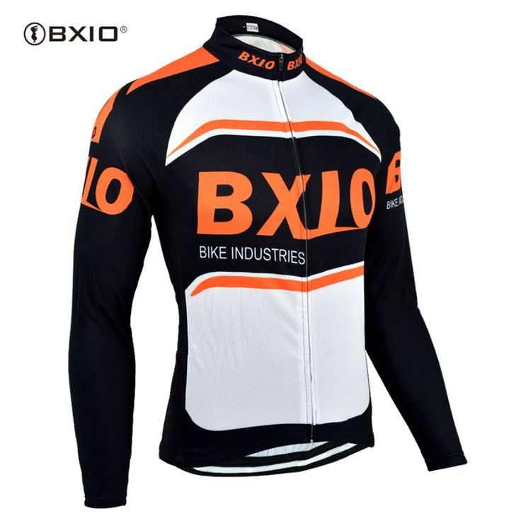 BXIO Winter Thermal Fleece Jacket Long Sleeve Fleece Men Chaleco Ciclismo Windproof Cheap Cycling Jersey Ropa Ciclismo 007-J #Affiliate