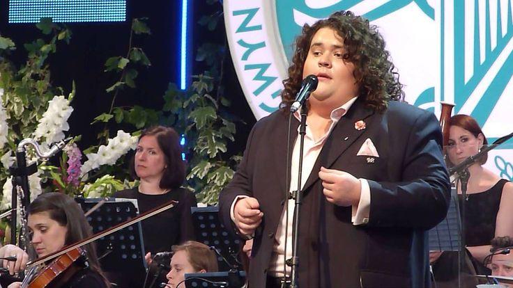 Jonathan Antoine singing 'So Deep Is The Night' live at Llangollen International Musical Eisteddfod, North Wales 09.07.15