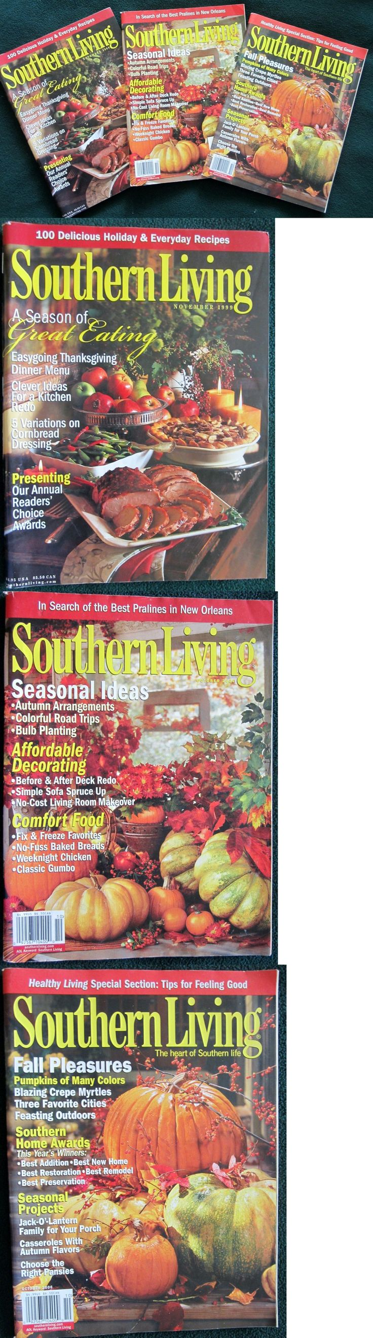 Magazines: Southern Living Magazine, Lot Of 3 Fall Magazines, Free Shipping -> BUY IT NOW ONLY: $8.94 on eBay!