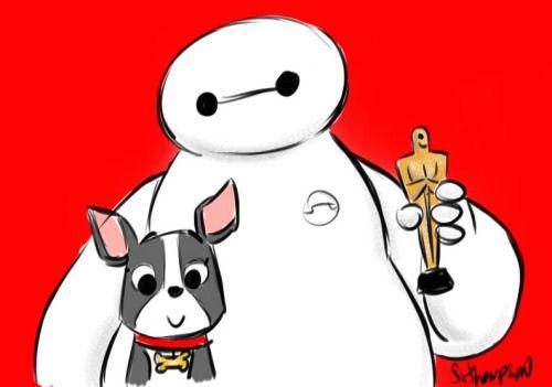 Steve Thompson Art   Big Hero 6   Disney   Grandes Héroes   @dgiiirls