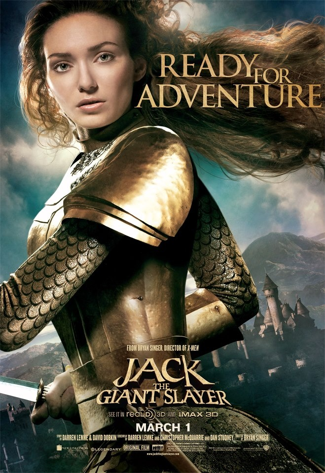 Jack the Giant Slayer, saw this movie today...kids would love it.