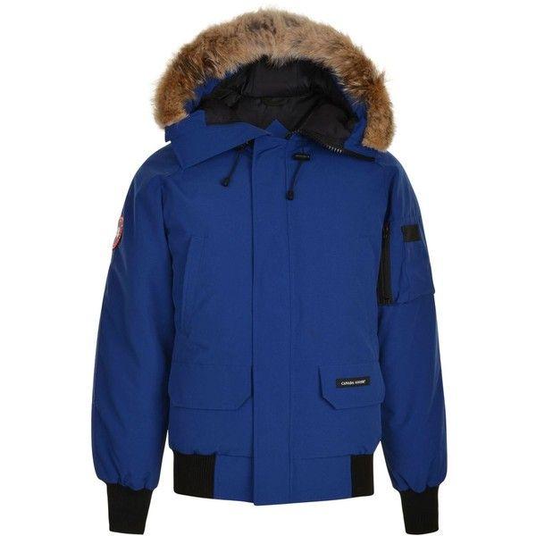 CANADA GOOSE Chilliwack Bomber Jacket ($915) ❤ liked on Polyvore featuring men's fashion, men's clothing, men's outerwear, men's jackets and canada goose mens jacket