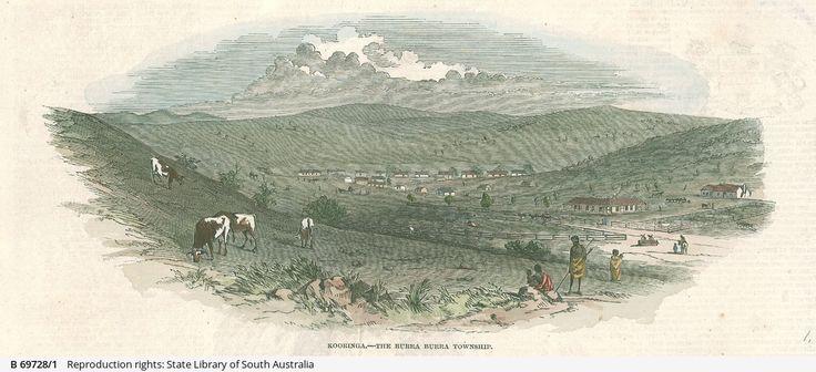 Kooringa - The Burra Burra Township 1847