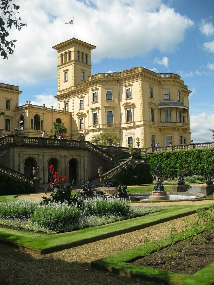 Osborne House - this is at the Isle Of Wight, where we went for our honeymoon.