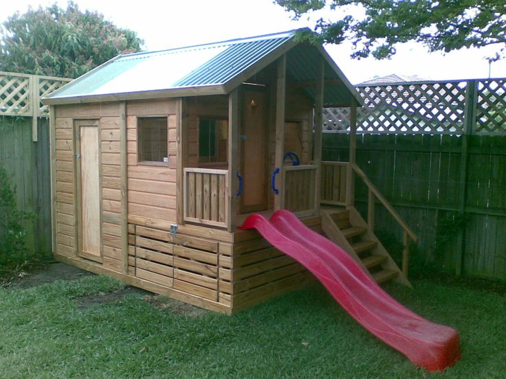 Best Shed Playhouse Images On Pinterest Playhouse Ideas Shed
