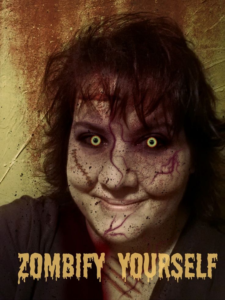 Zombify yourself for free!
