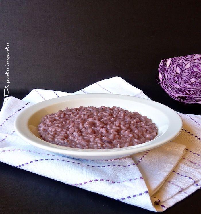Di pasta impasta: Risotto con cavolo rosso e gorgonzola