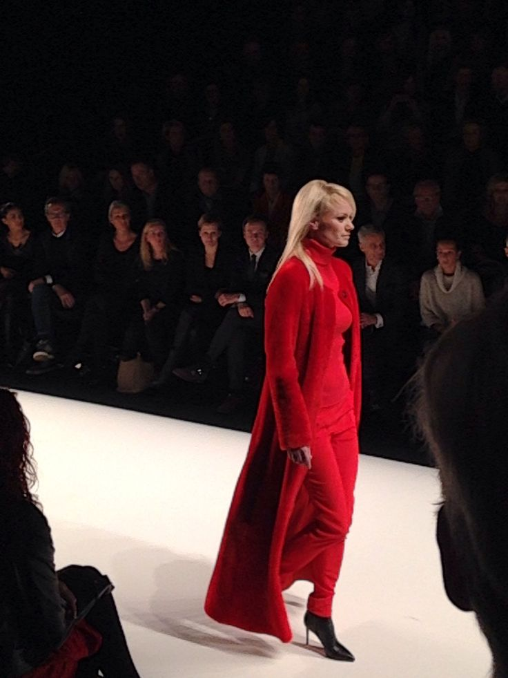 Franziska Knuppe @Rian Irwin Fall/Winter 2014/15 Fashion Show @Mercedes-Benz Fashion Week Berlin