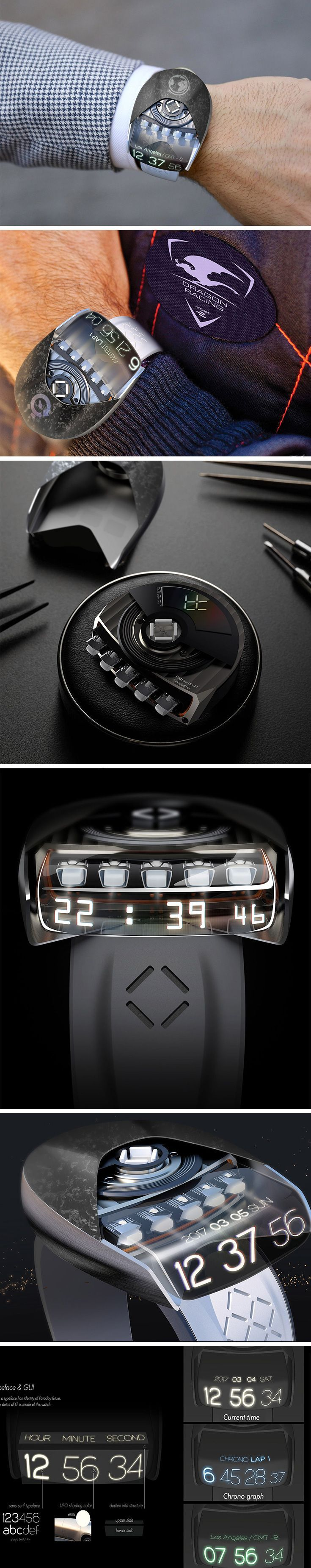 While we play the waiting game for Faraday Future's FF 91 release, we can count the hours and minutes on this Faraday Future watch! Called the Extraordinary Timeteller, this conceptual timepiece puts a twist on telling the time.