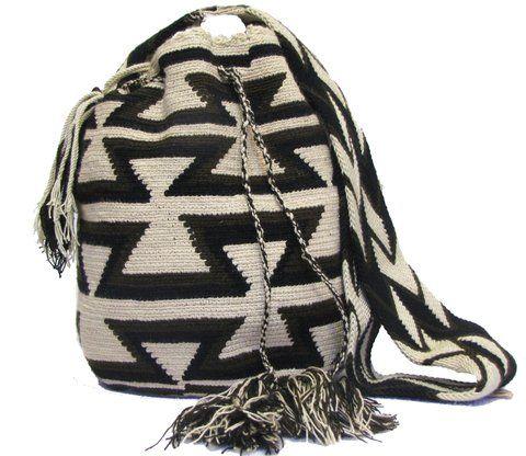 Mochila Wayuu Tribal Patrones Arhuacos - comprar online