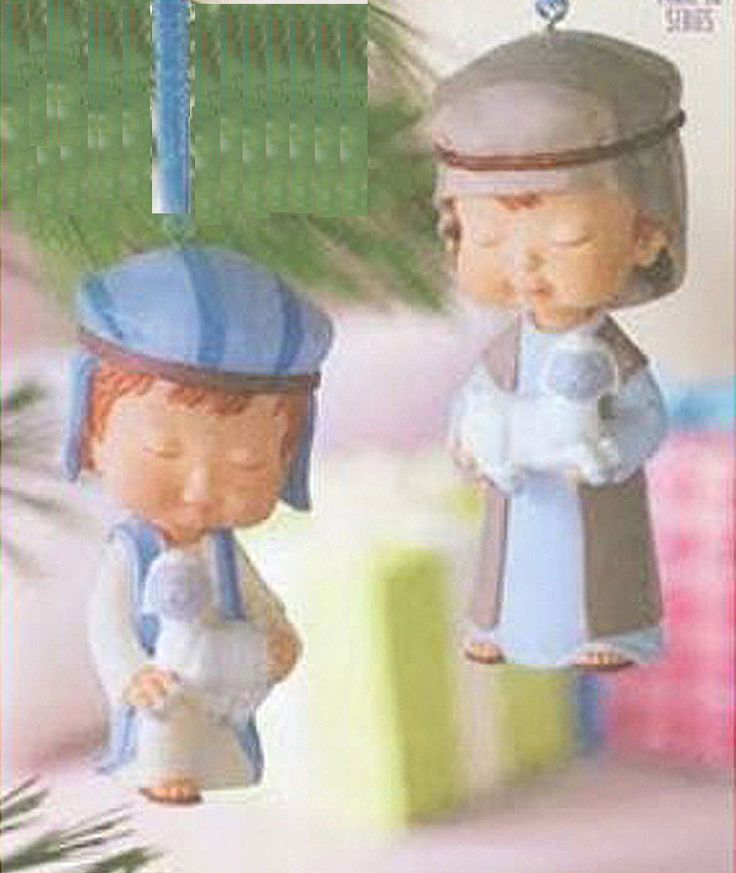 Holy Family With Angel Hair Glass Ornament: 44 Best Images About My Hallmark Mary's Angels Collection