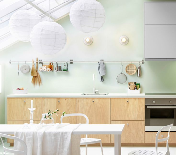 La cuisine passe l heure scandinave cuisine met and for Ikea heures d orlando
