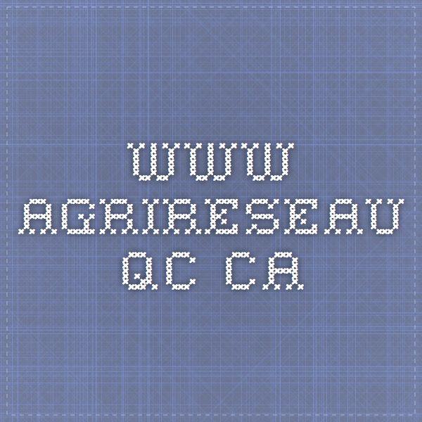 www.agrireseau.qc.ca