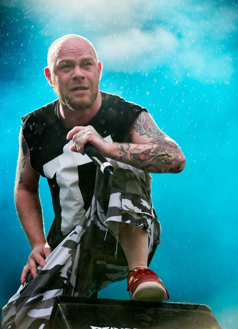 Five Finger Death Punch singer Ivan Moody photos