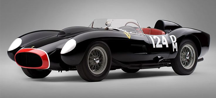 FERRARI 250 TESTA ROSSA, DE 1957 Sold for 12.2 million dollars in 2009. Although there are twenty-one other cars like this, no hit size value. Many believe that the beauty of the vehicle, whose design is by the Italian Sergio Scaglietti was the main feature responsible for its success