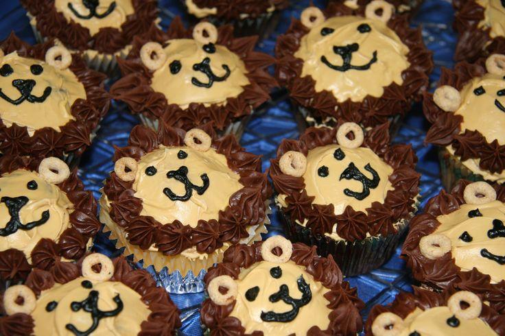 Lion Cupcakes (summer cupcakes designs)