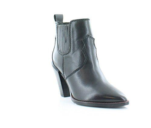 Coach Women's westyn black soft veg leather boot · Leather BootsDesigner ShoesLeather  BootiesLeather Shoes