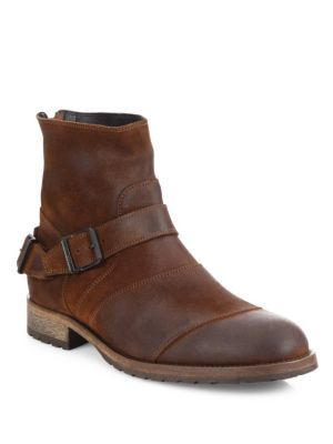 BELSTAFF Trialmaster Leather Ankle Boots. #belstaff #shoes #boots