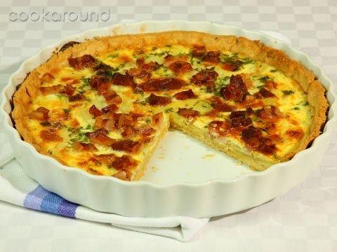 Quiche rustica patate e pancetta: Ricette di Cookaround | Cookaround