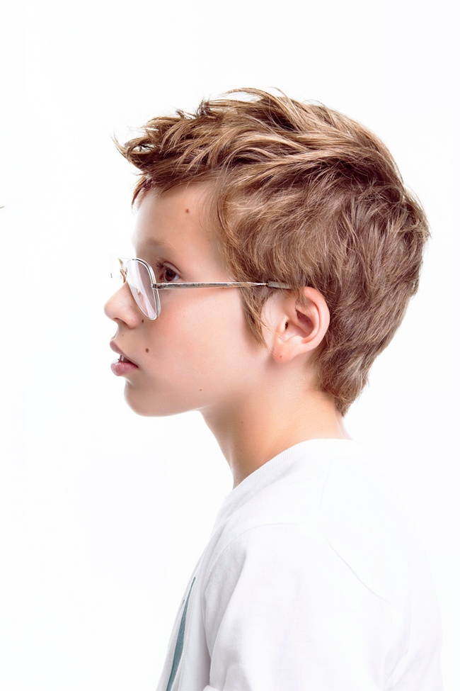 Simple hairstyle boy indian-7324