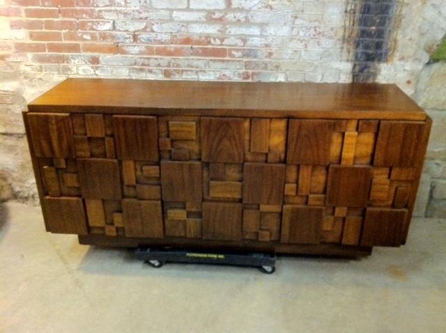 Best Vintage Lane Furniture Mid Century Modern Cubist Mosaic 400 x 300
