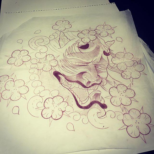 【outlaw8282】さんのInstagramをピンしています。 《The start of something fun #japanese #japanesetattoo #hannyamask #hannya #japan #prismacolor #prisma #sketch #sketchaday #sketchaday #cherryblossom #flowers #cherryblossoms #japaneseart #drawing #yeg #yeggers #yegarts #edmontontattoo #edmonton #etown #edmontonartist #alberta #sketching #pencil #pencildrawing #yegart #handcrafted #drawingsofinstagram》
