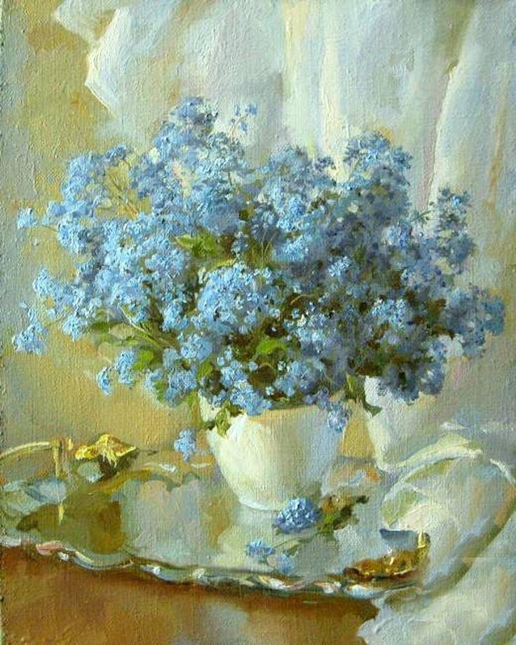 Catherine Kalinovskaja — Forget-me-not (802x1003)