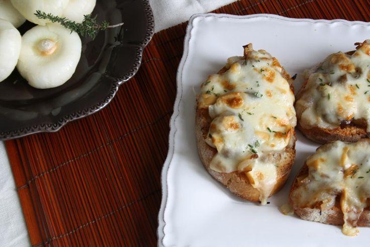 Italienisch Kochen   Super lecker die Crostini, probieren sie Sie zuhause mit einem einfachen Rezept!