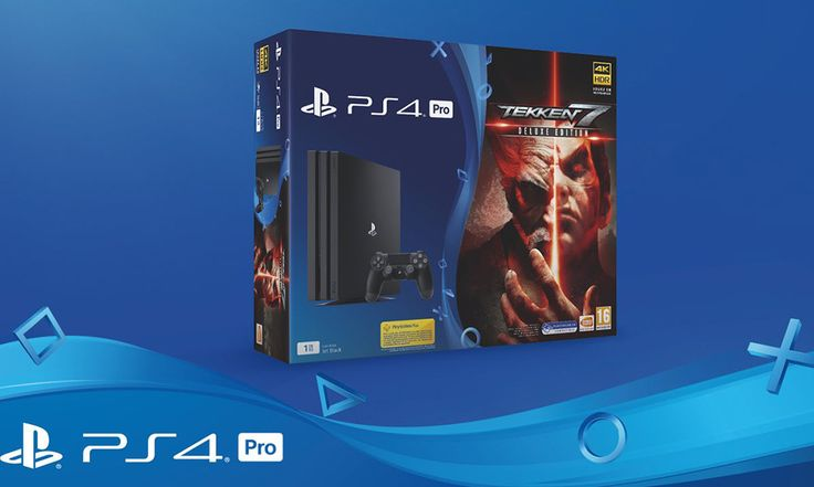 PS4 Pro bundledwith Tekken 7 (deluxe) available June 2nd #Playstation4 #PS4 #Sony #videogames #playstation #gamer #games #gaming