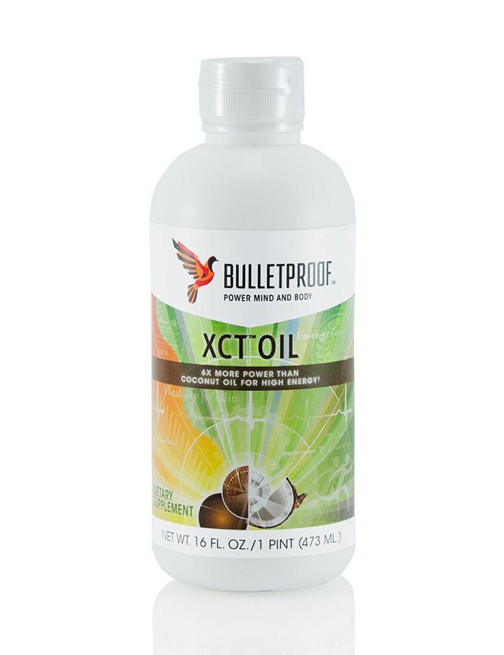 Bulletproof Upgraded XCT Oil™