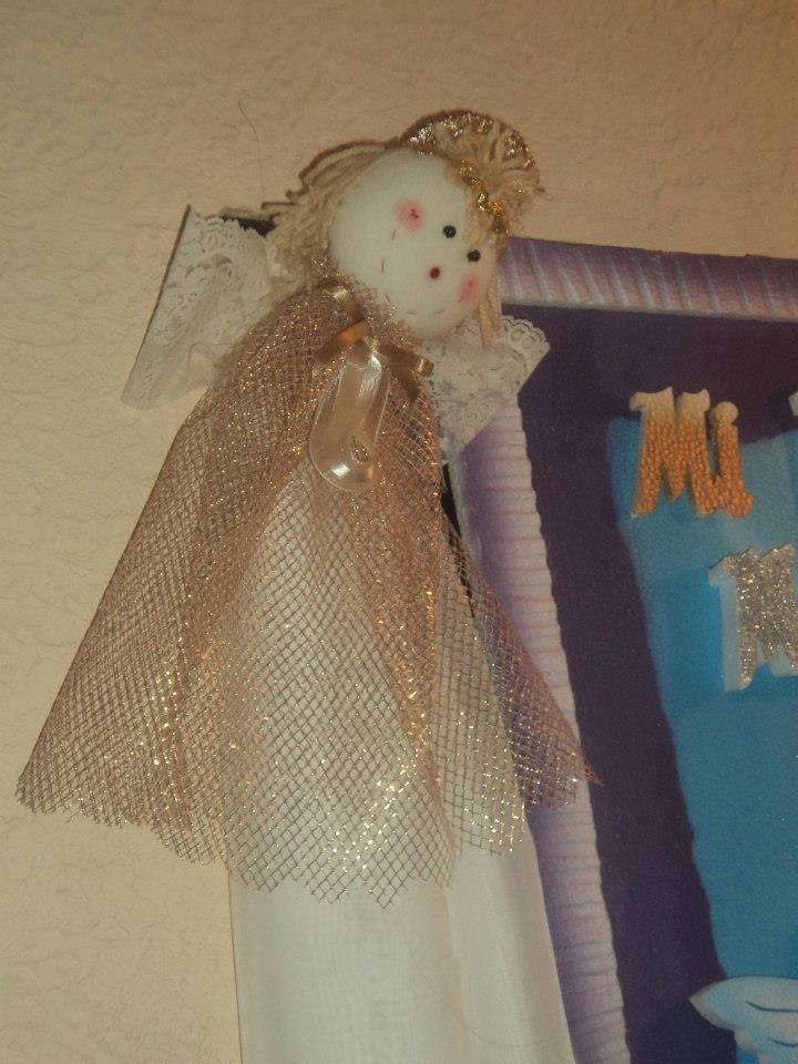 angel navidad juego de pared