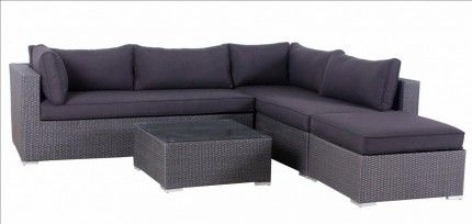 Save on the Ostia 4 Seater Outdoor Bench Lounge with Cushion at Furniture Online