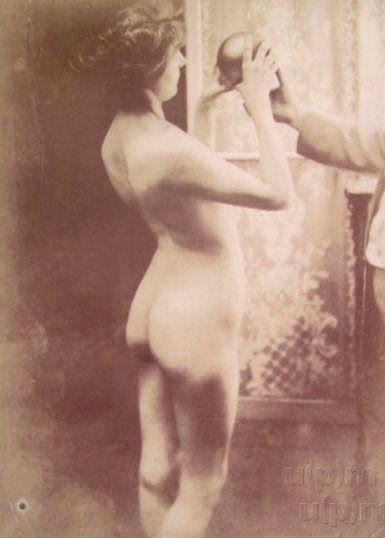 Study... by Alphonse Mucha, 1902. www.esbirky.cz, CC0